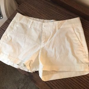 White shorts from Old Navy